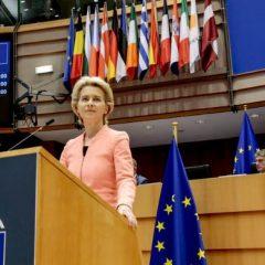 Predsednica Evropske komisije predstavila vizijo močnejše Evrope