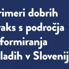 """Zbornik """"Primeri dobrih praks s področja informiranja mladih v Sloveniji"""""""