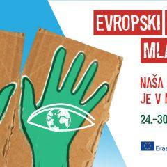 Razpis za sofinanciranje projektov v okviru Evropskega tedna mladih 2021