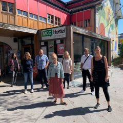 Občine na obisku v Mestni občini Celje in Celjskem mladinskem centru